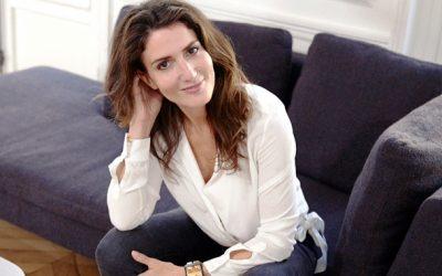 Anne-Laure Constanza au Café de Flore le 6 juin